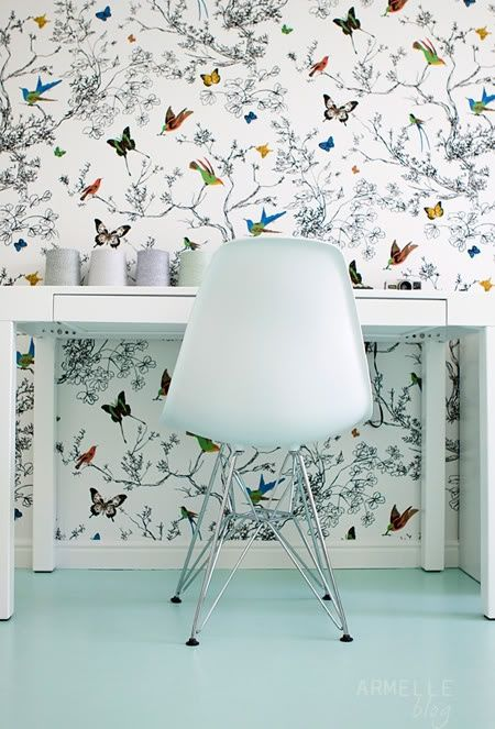 Bird Wallpaper Wall Coverings