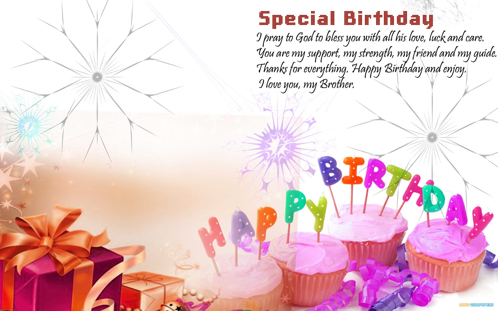 Birthday Messages Wallpaper
