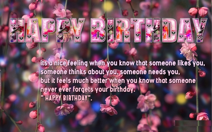 Birthday Wallpaper With Message