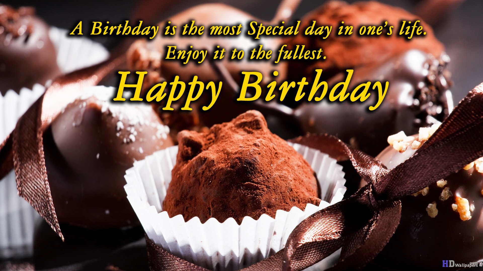 Download Birthday Wishes Cake Wallpapers Gallery