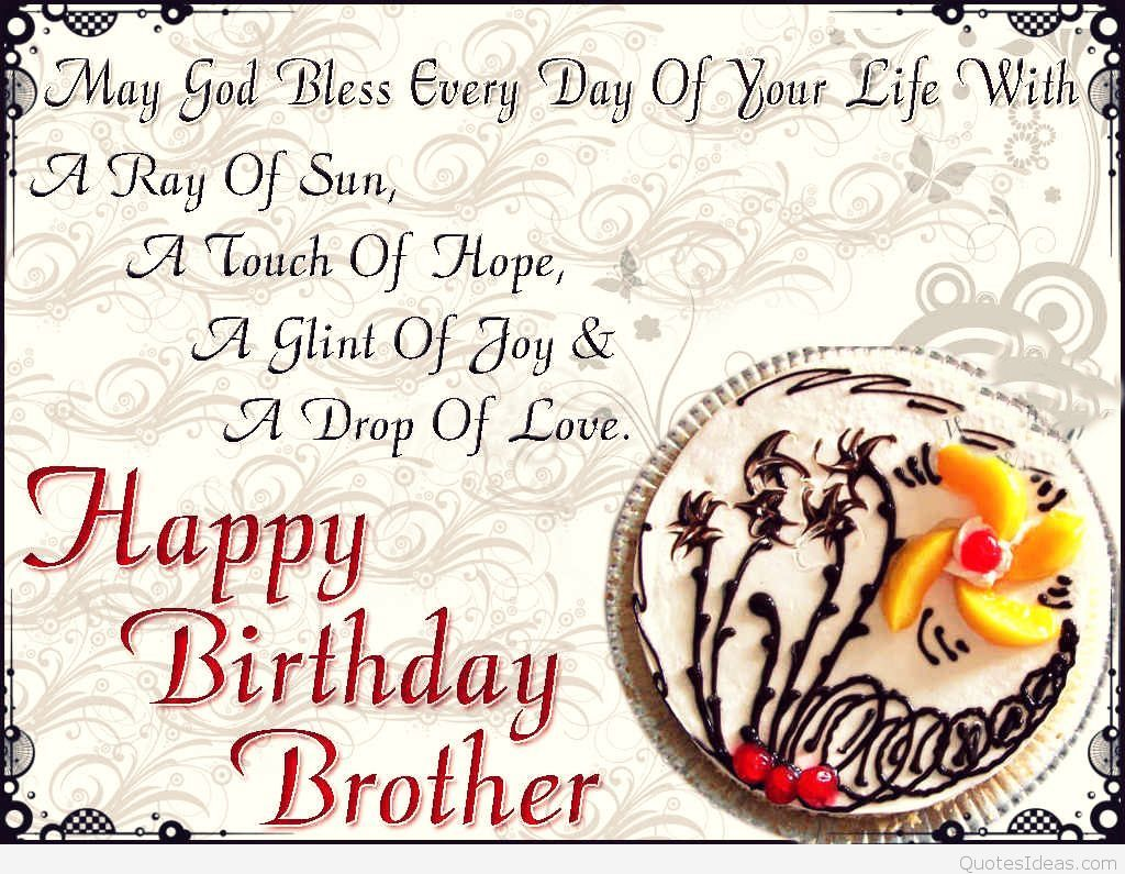 Download Birthday Wishes For Brother Wallpaper Gallery