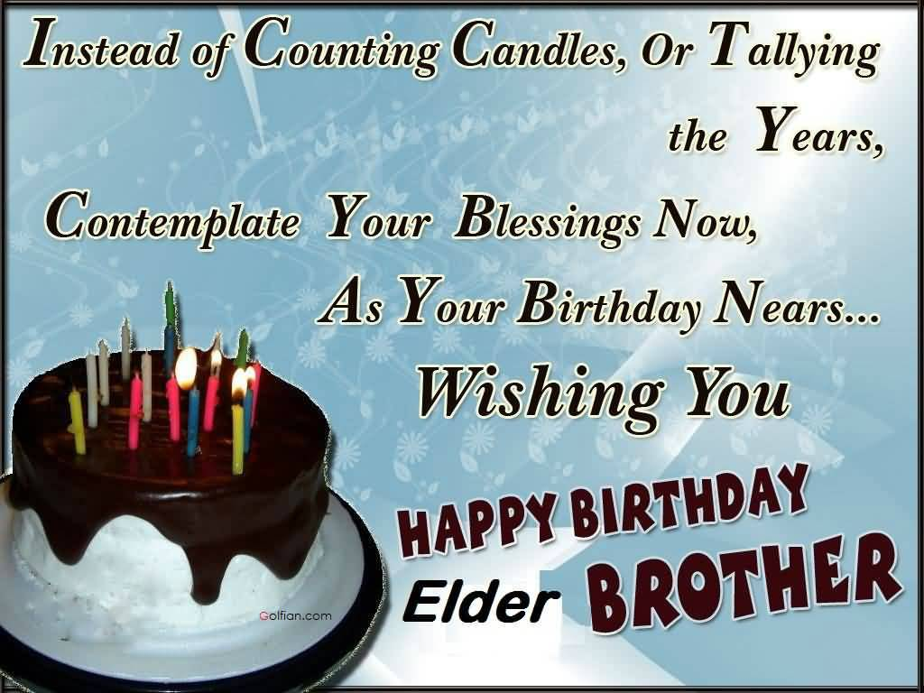 Download Birthday Wishes Wallpaper For Brother Gallery