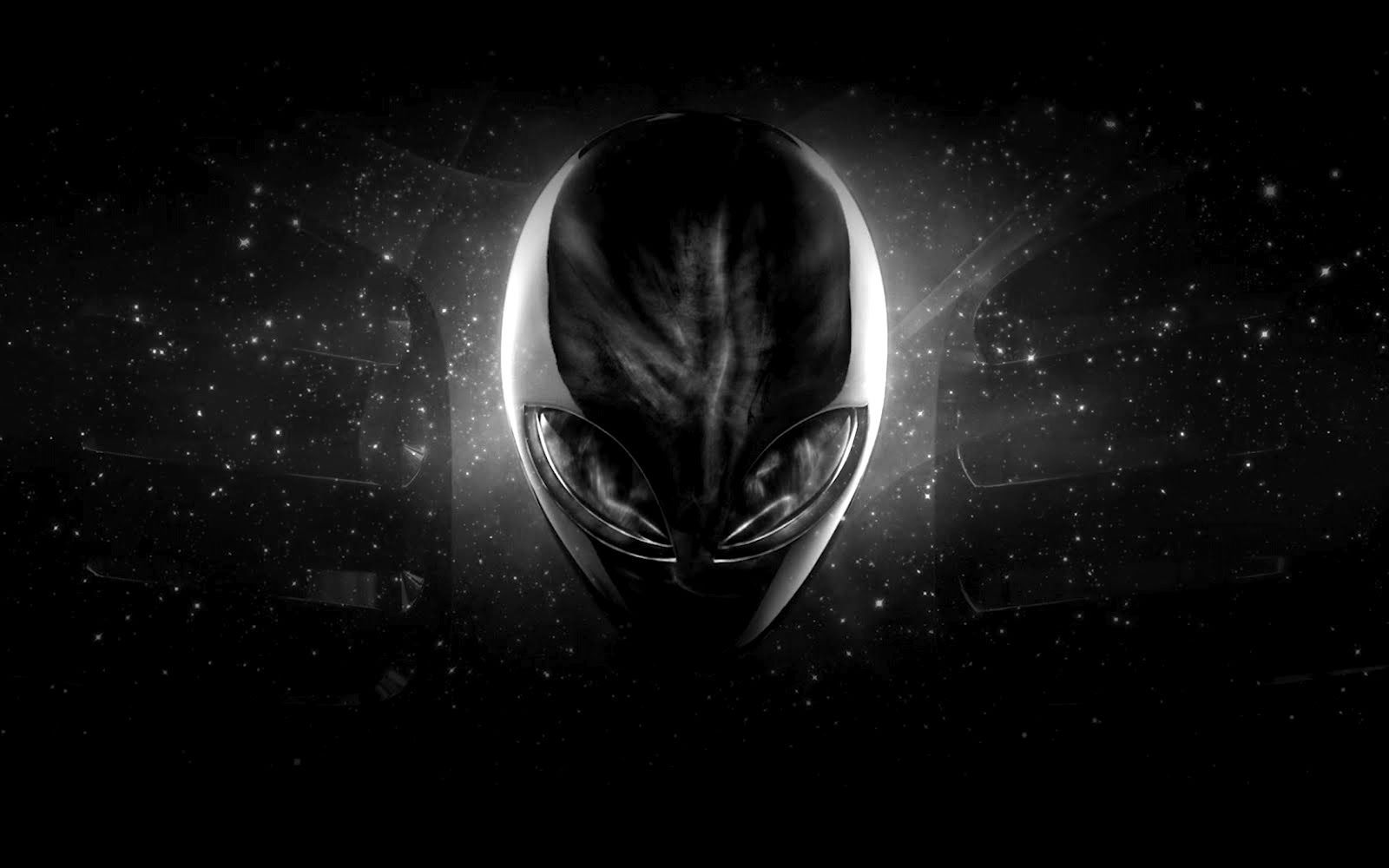 Black Alien Wallpaper