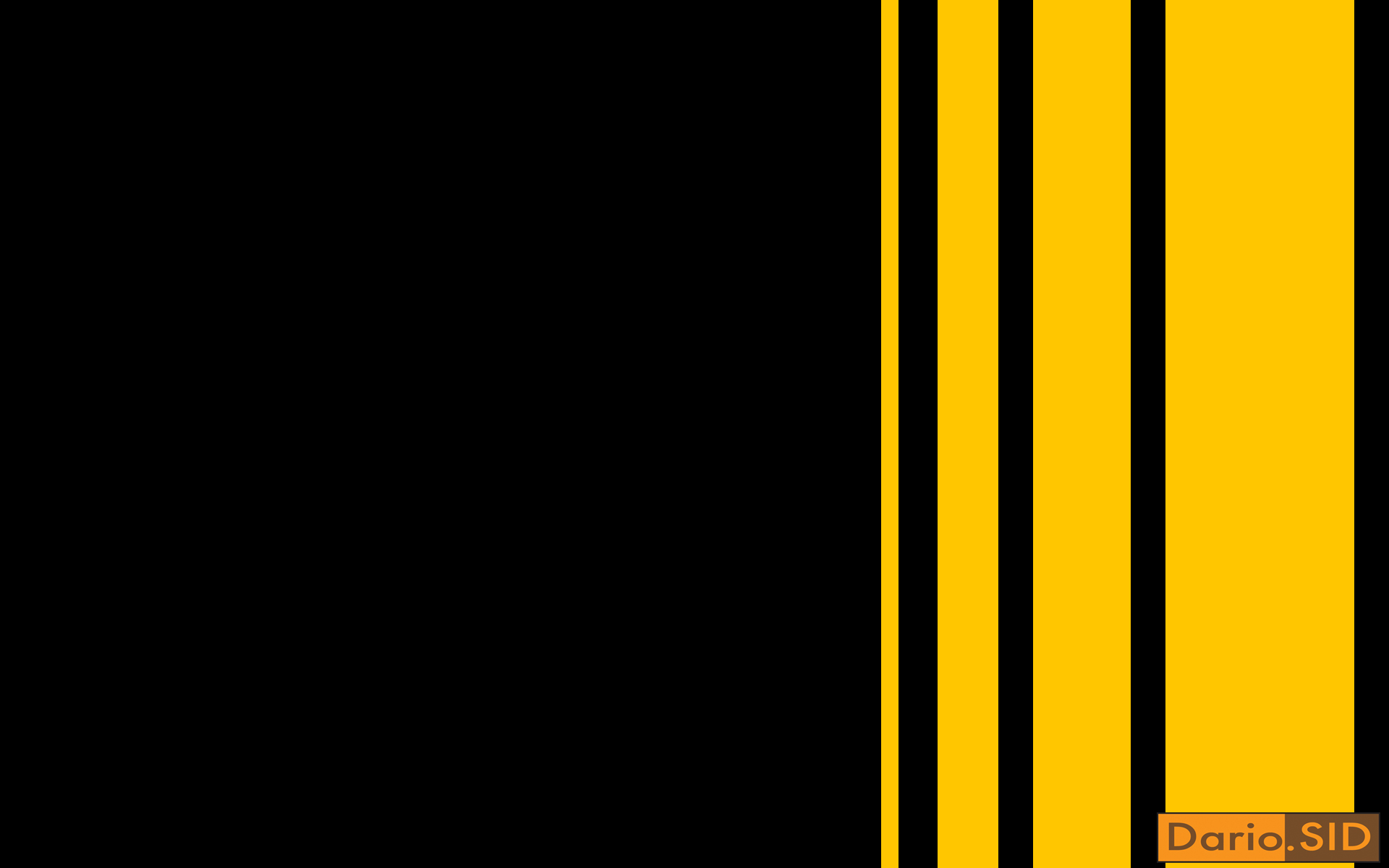 Black &Amp; Yellow Wallpaper