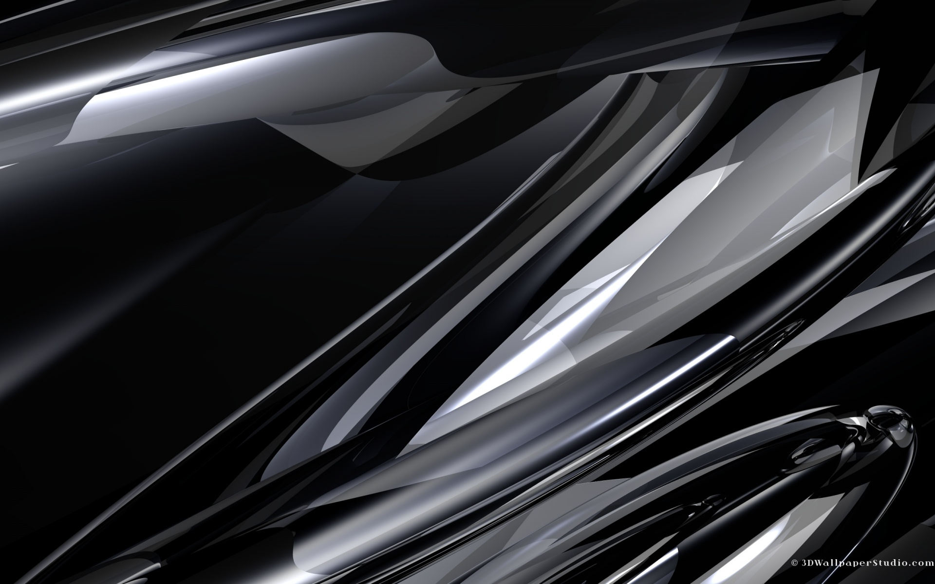 Black And Chrome Wallpaper