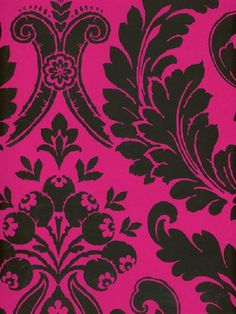 Black And Fuschia Wallpaper