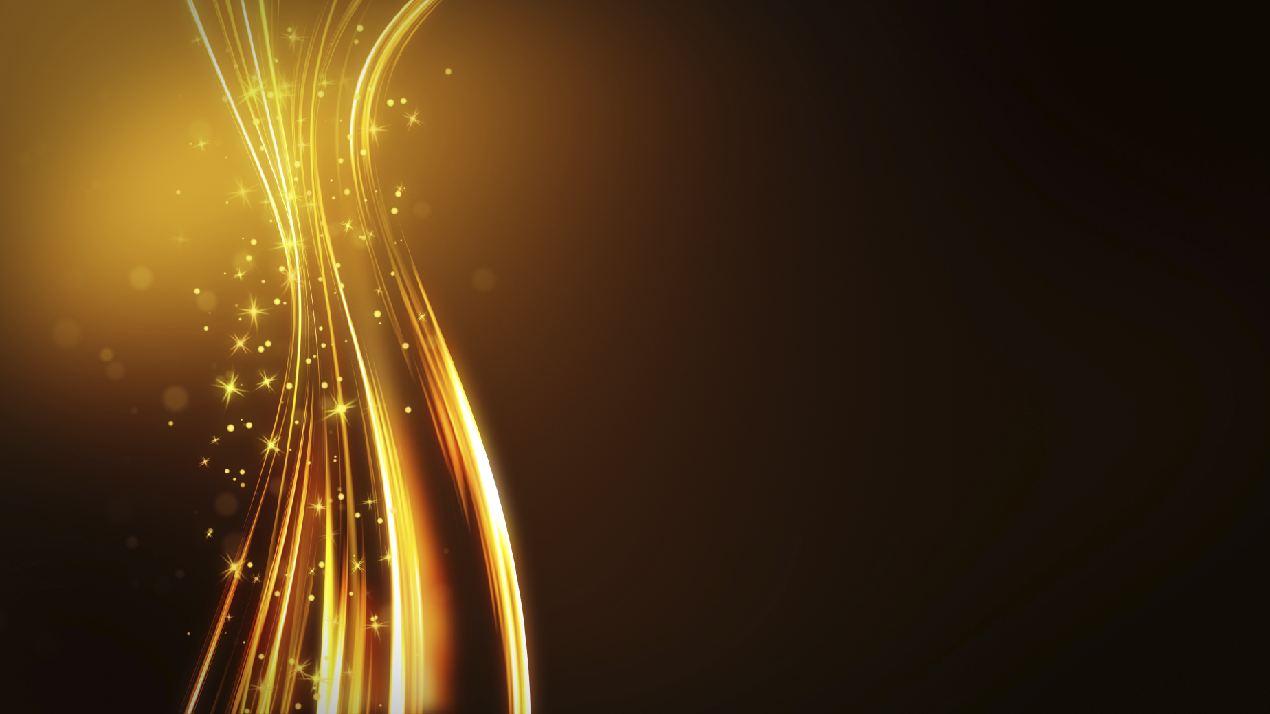 Black And Gold Abstract Wallpaper