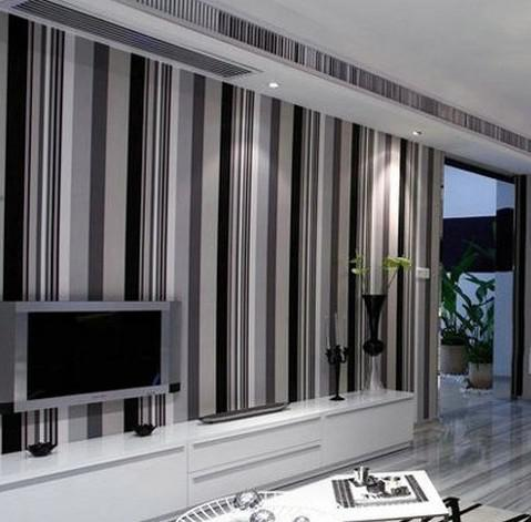 Black And Grey Feature Wallpaper