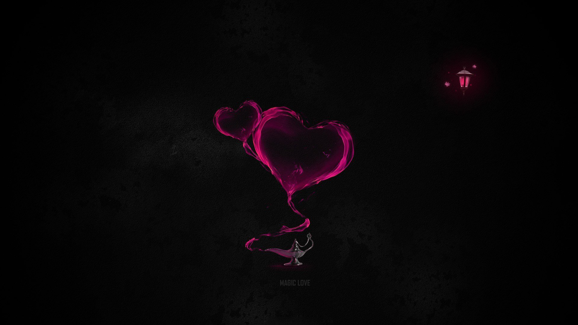 Black And Pink Wallpaper HD