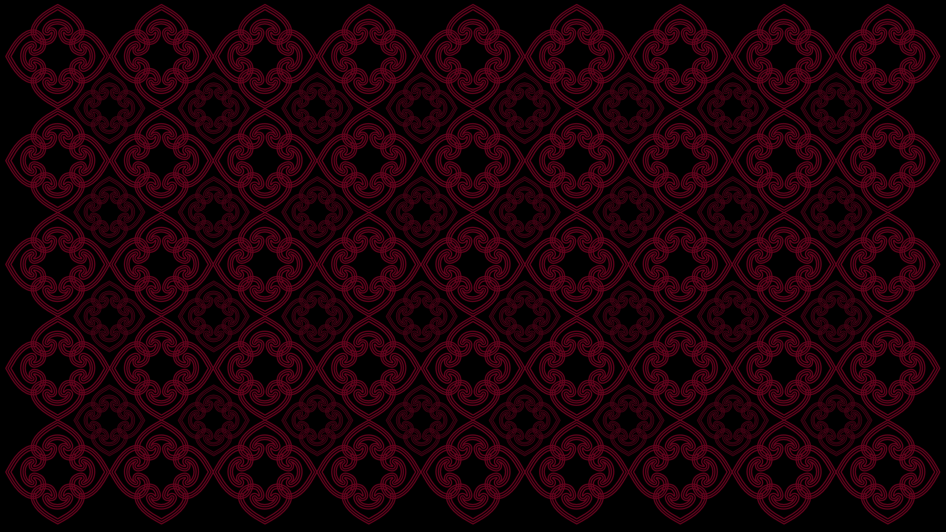 Black And Red Patterned Wallpaper