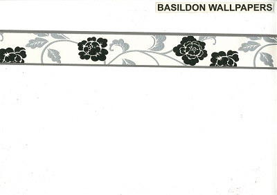 Black And Silver Wallpaper Borders