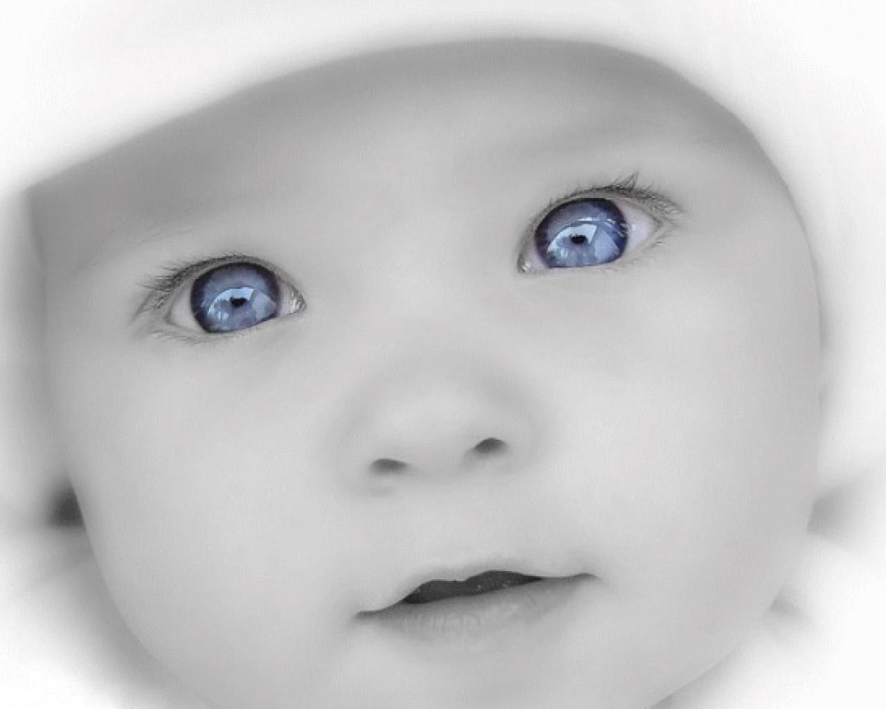 Black And White Baby Wallpaper