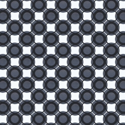 Black And White Circle Wallpaper