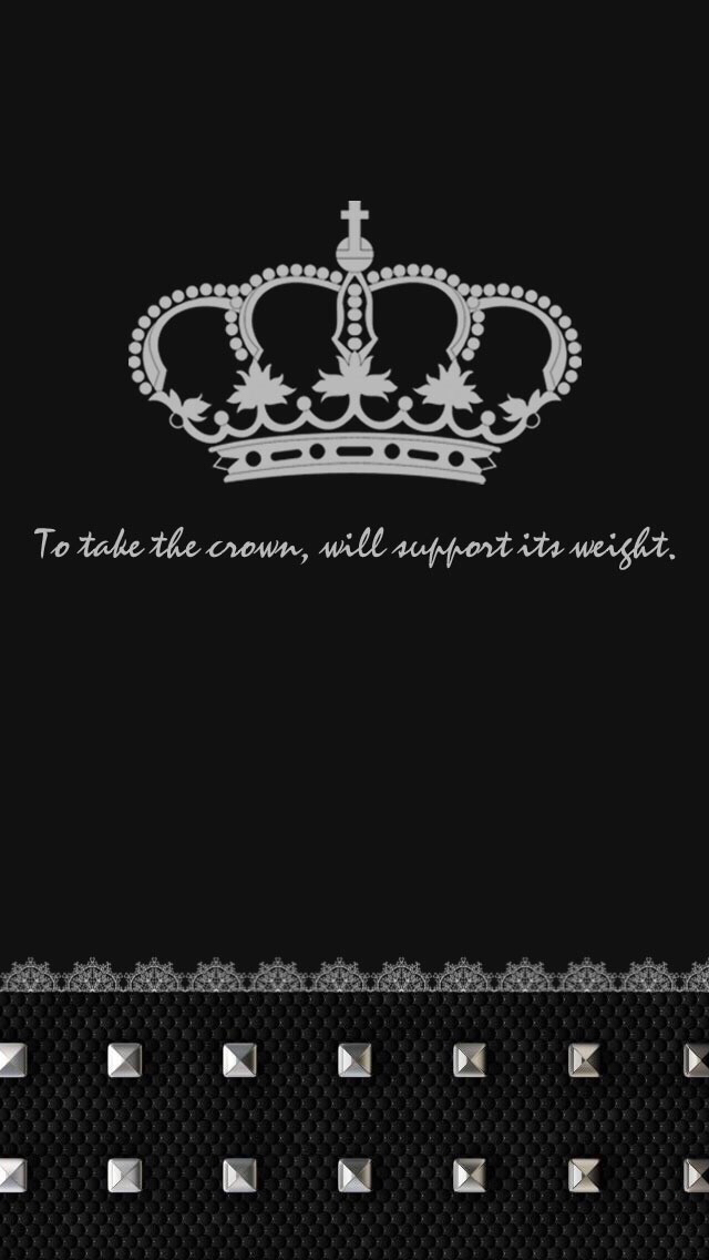 Download Black And White Crown Wallpaper Gallery