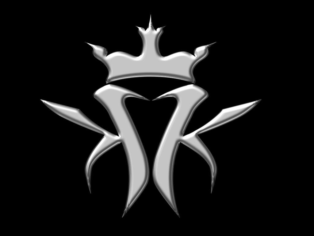 Black And White Crown Wallpaper
