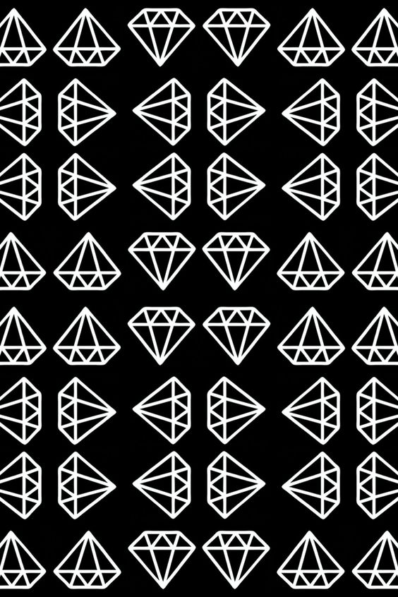 Black And White Diamond Wallpaper