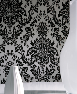 Black And White Feature Wall Wallpaper