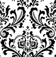 Black And White Filigree Wallpaper