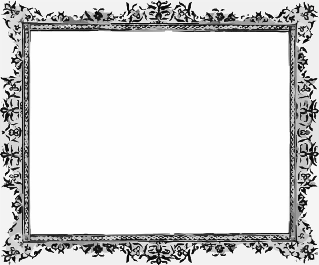 Black And White Frame Wallpaper