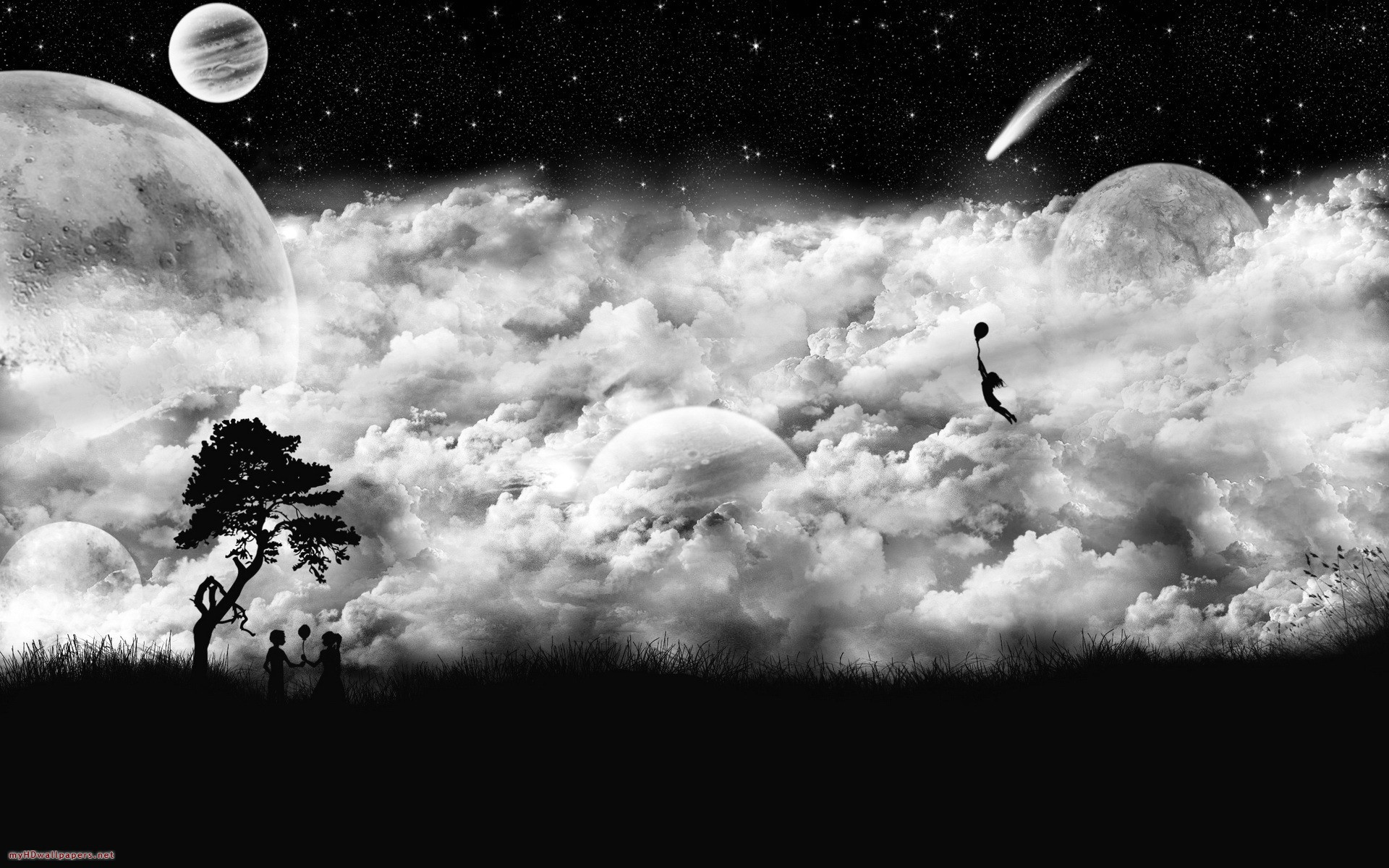 Black And White HD Wallpapers Free Download