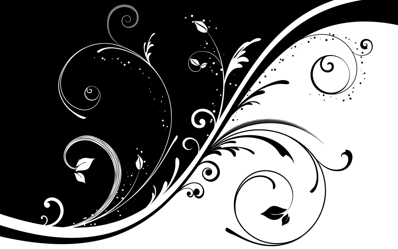 Black And White Line Drawing Wallpaper