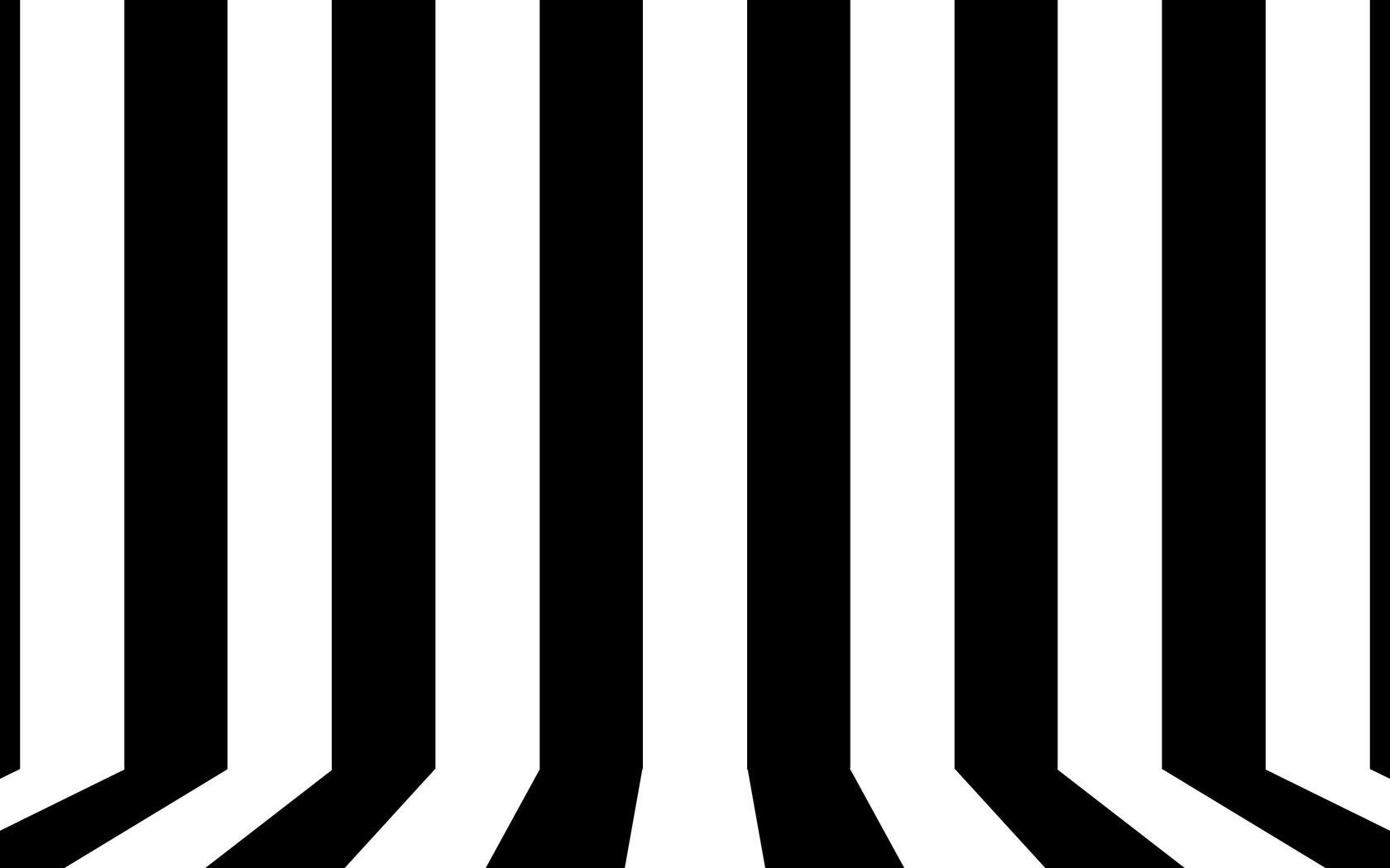 Black And White Lines Wallpaper