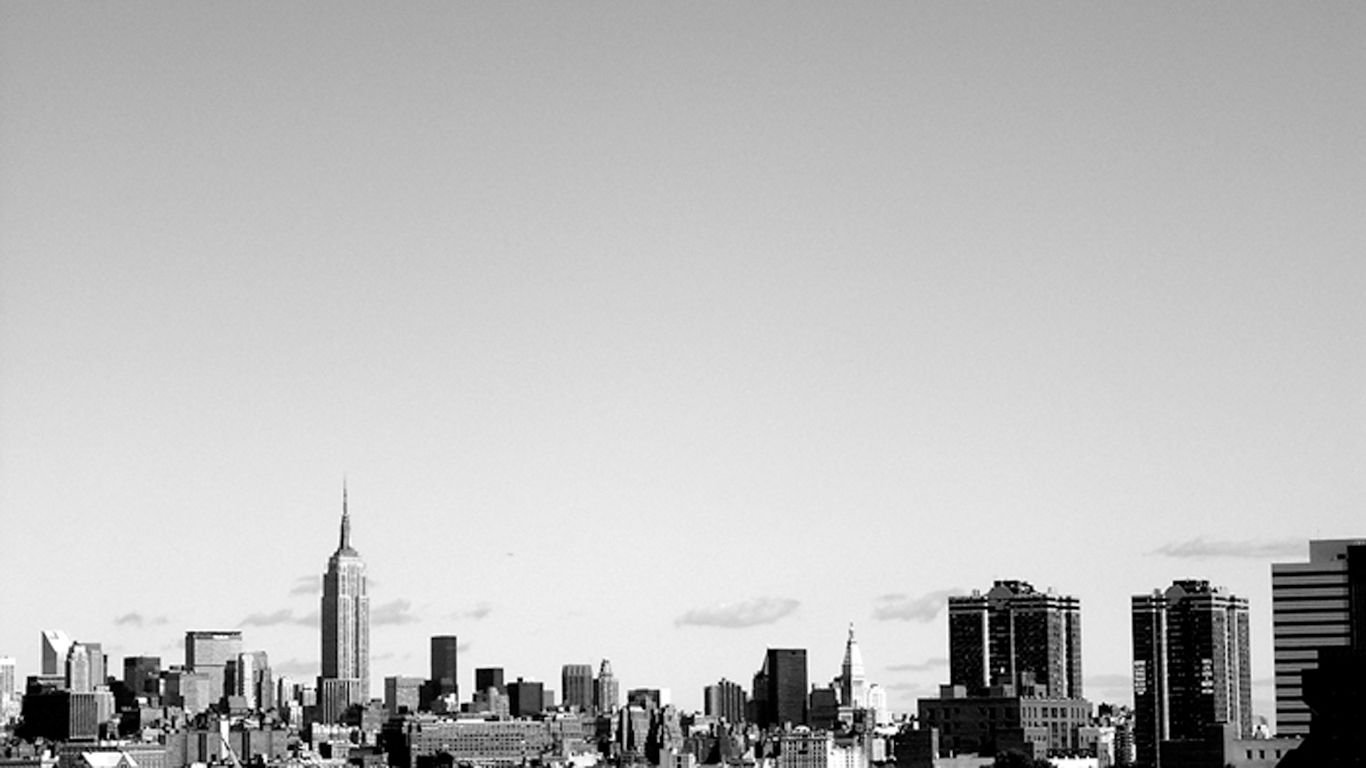 Black And White Wallpaper City
