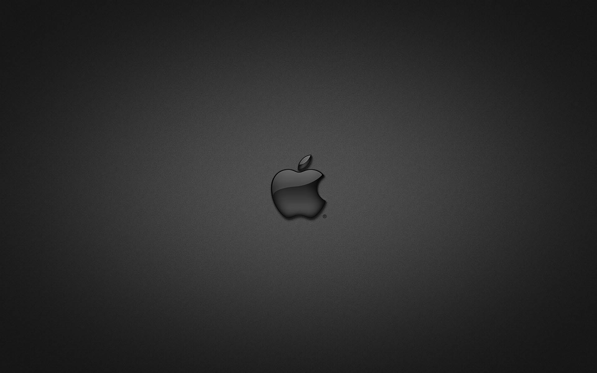 Black Apple HD Wallpaper
