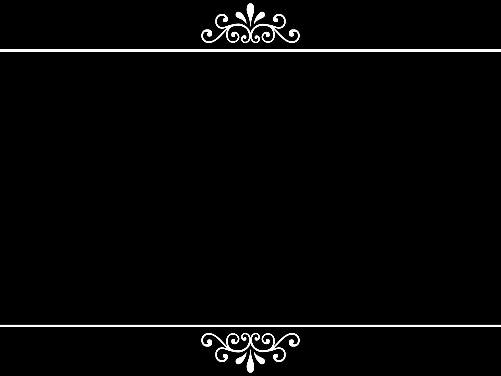 Black Border Wallpaper