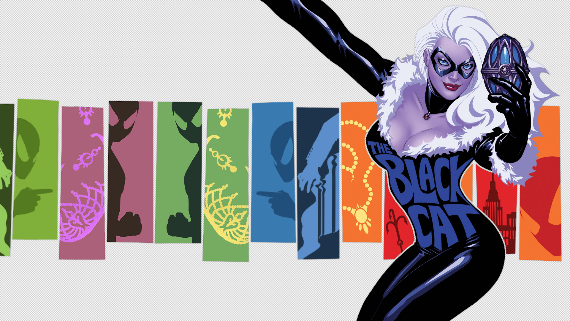Black Cat Marvel Wallpaper