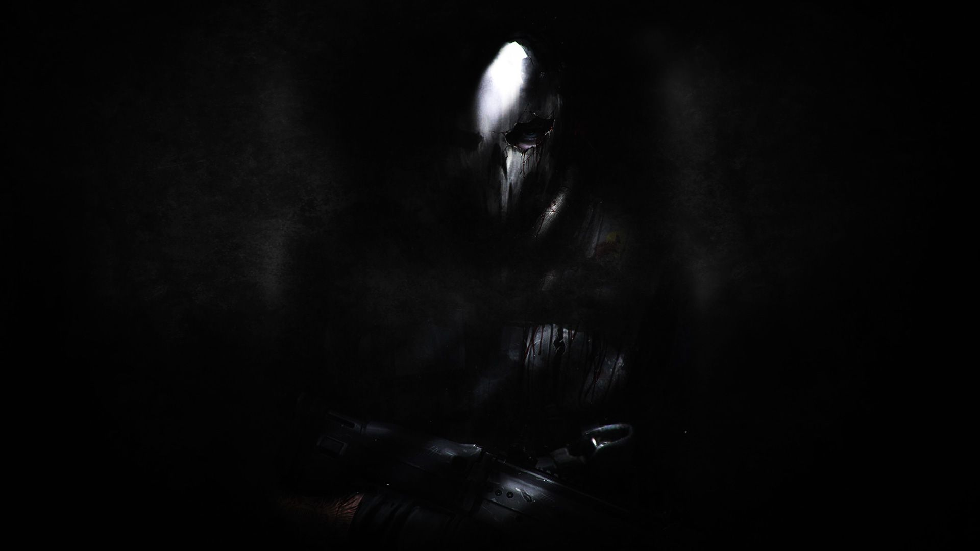 Black Ghost Wallpaper