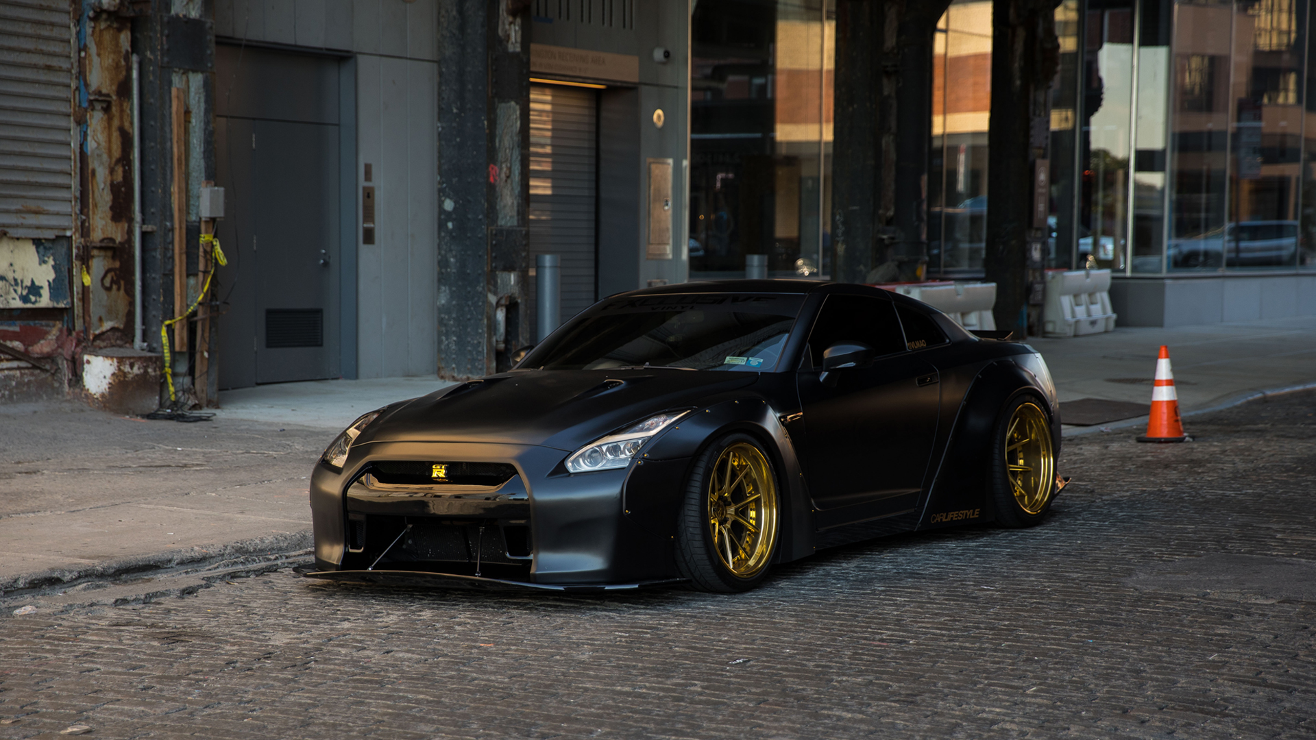 Download Black Gtr Wallpaper Gallery