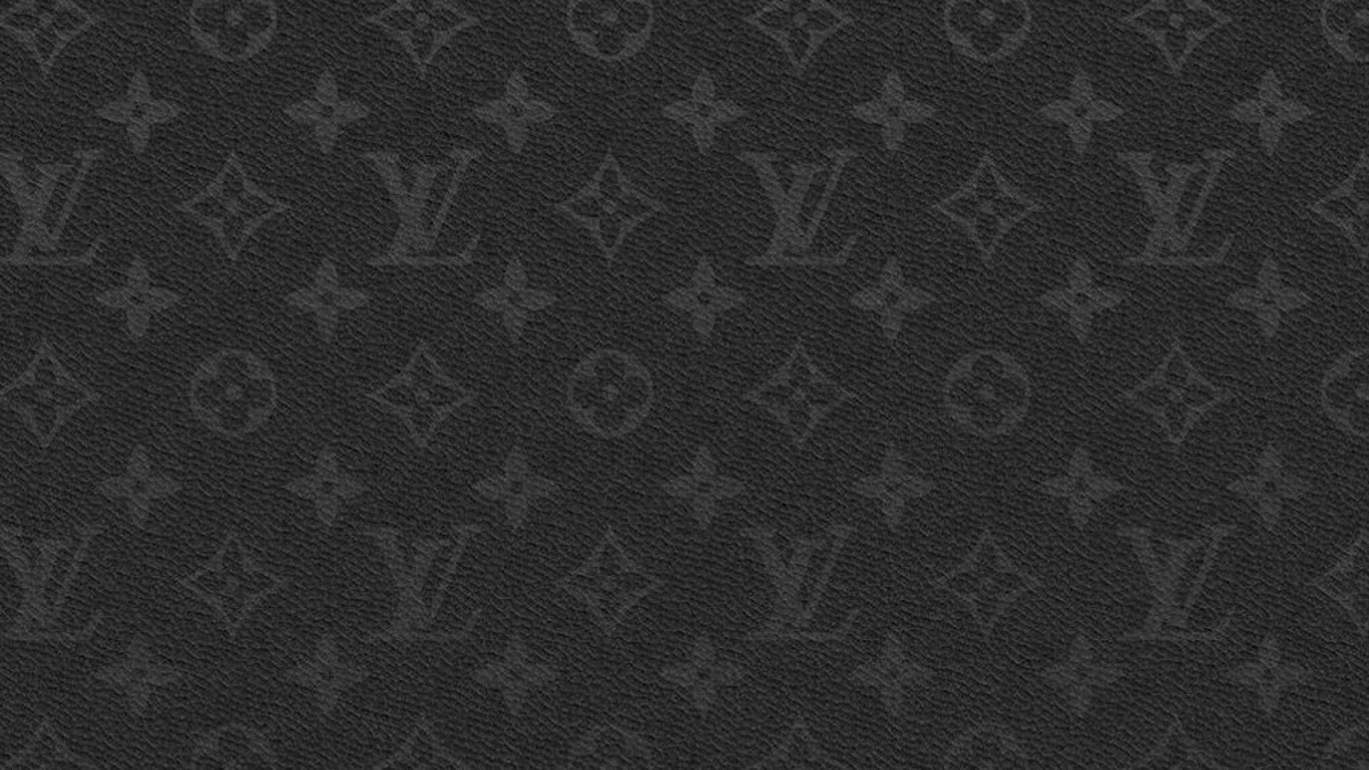 Black Louis Vuitton Wallpaper