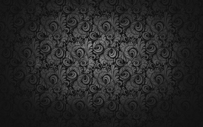 Black Paisley Wallpaper