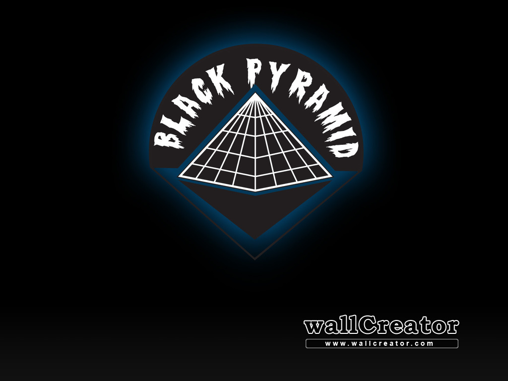Black Pyramid Wallpaper