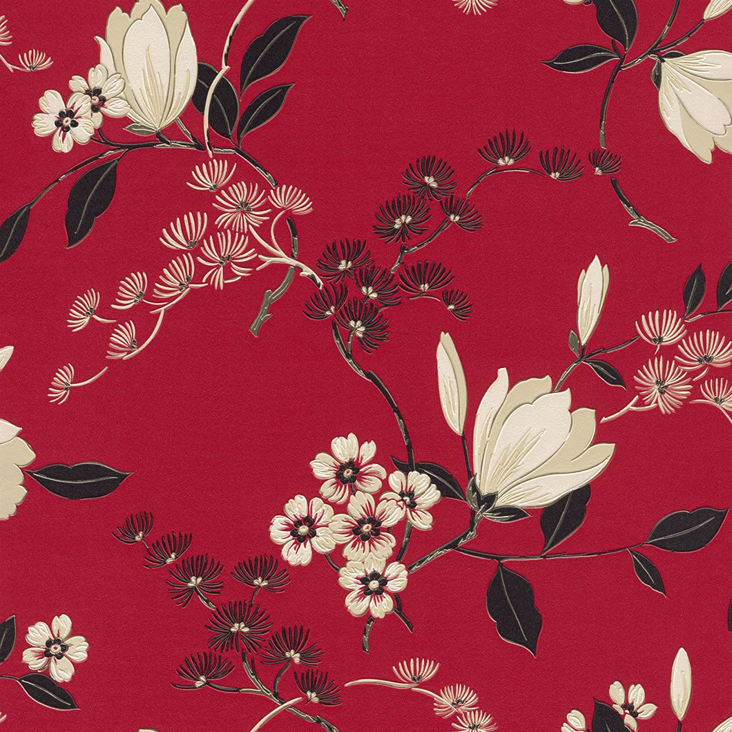 Black Red And Cream Wallpaper