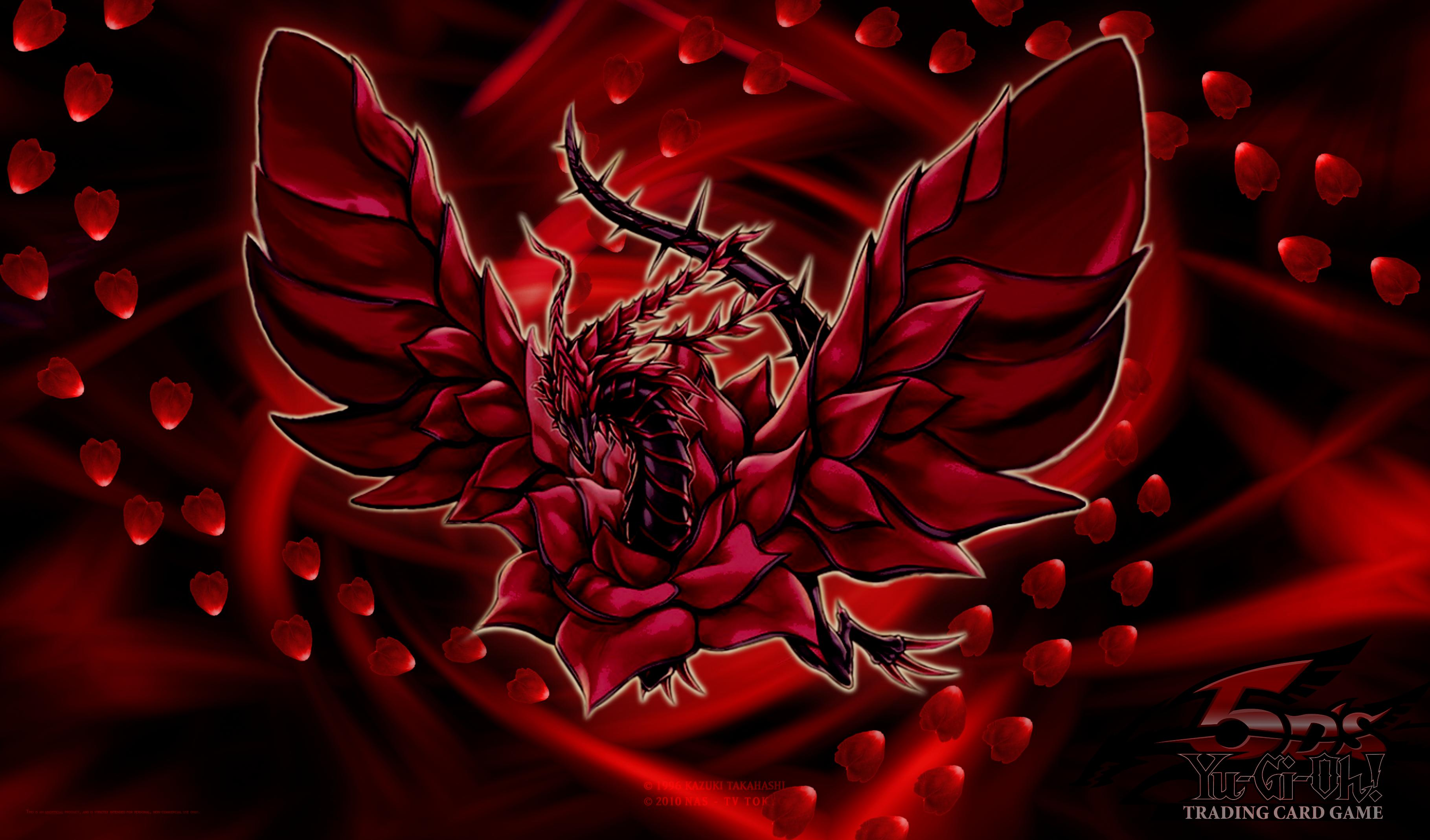 Black Rose Dragon Wallpaper