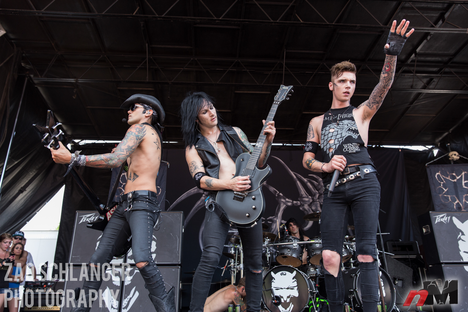Black Veil Brides Live Wallpaper