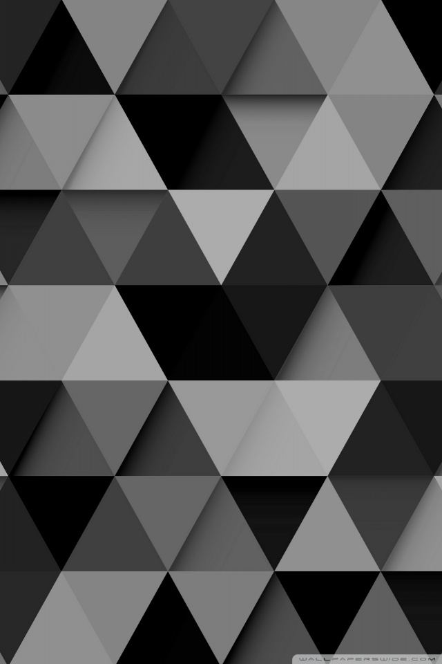 Black Wallpaper With Design