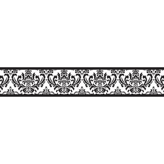 Black White Wallpaper Border
