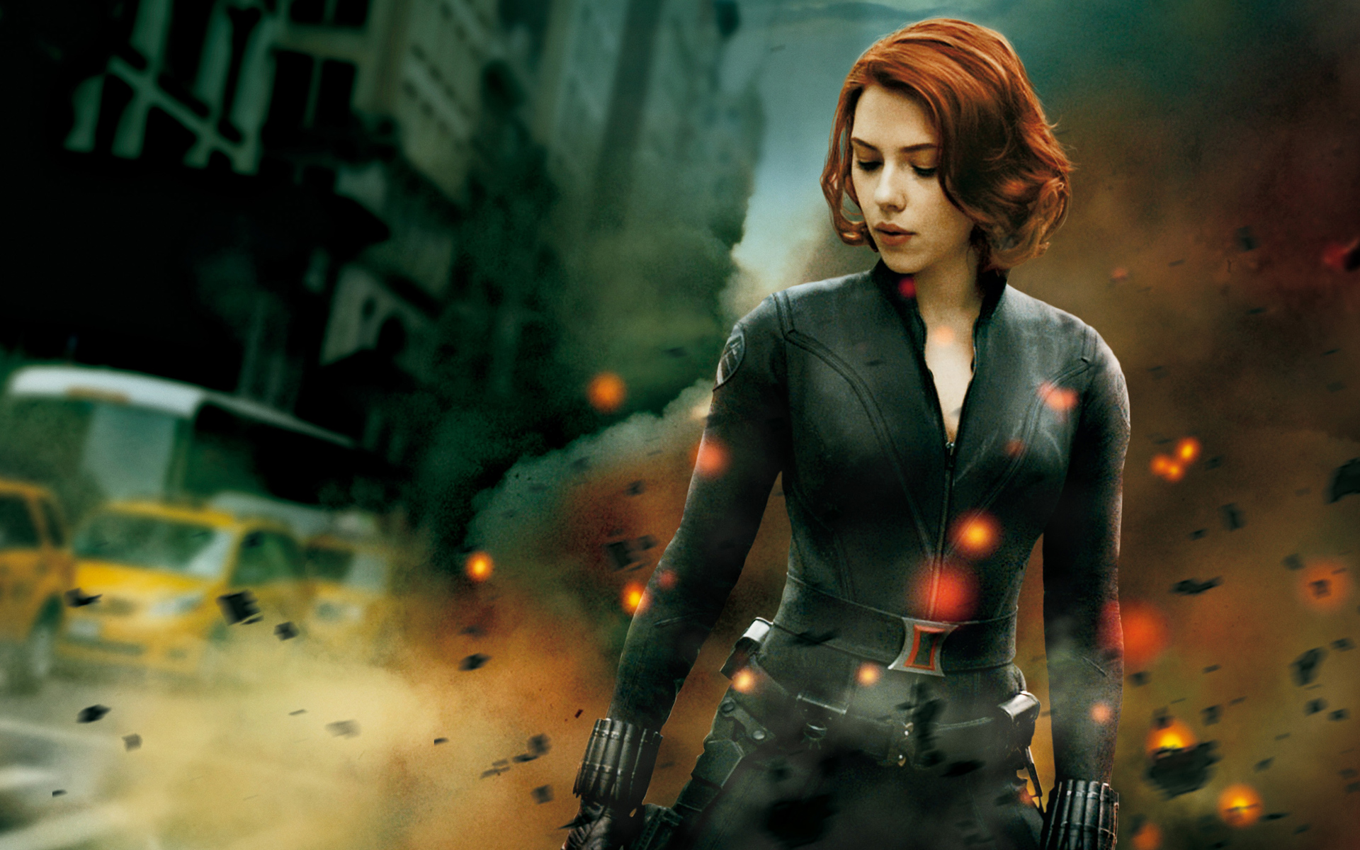 Black Widow Avengers Wallpaper