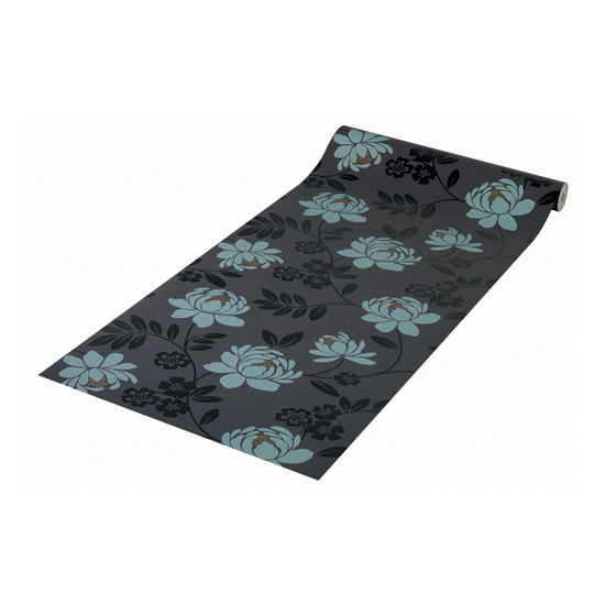 Blue And Black Wallpaper For Bedrooms