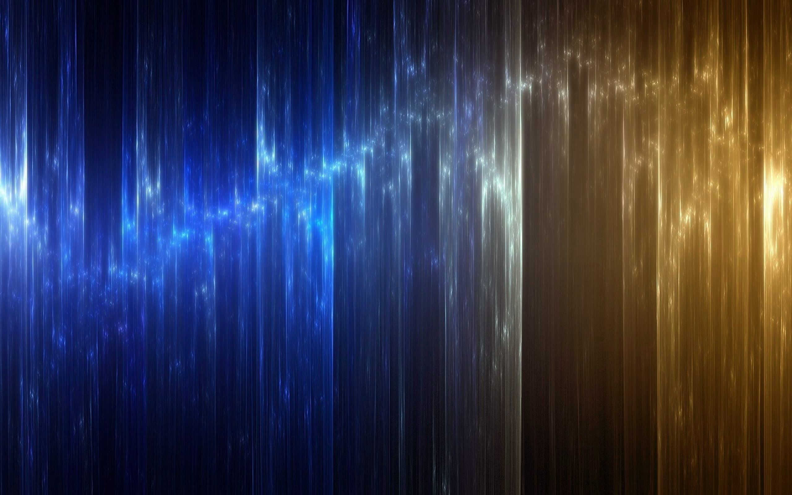 Blue And Gold Wallpaper