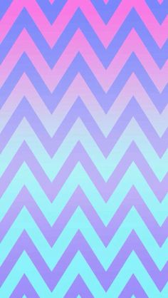 Blue And Purple Striped Wallpaper