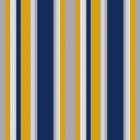 Blue And Yellow Striped Wallpaper