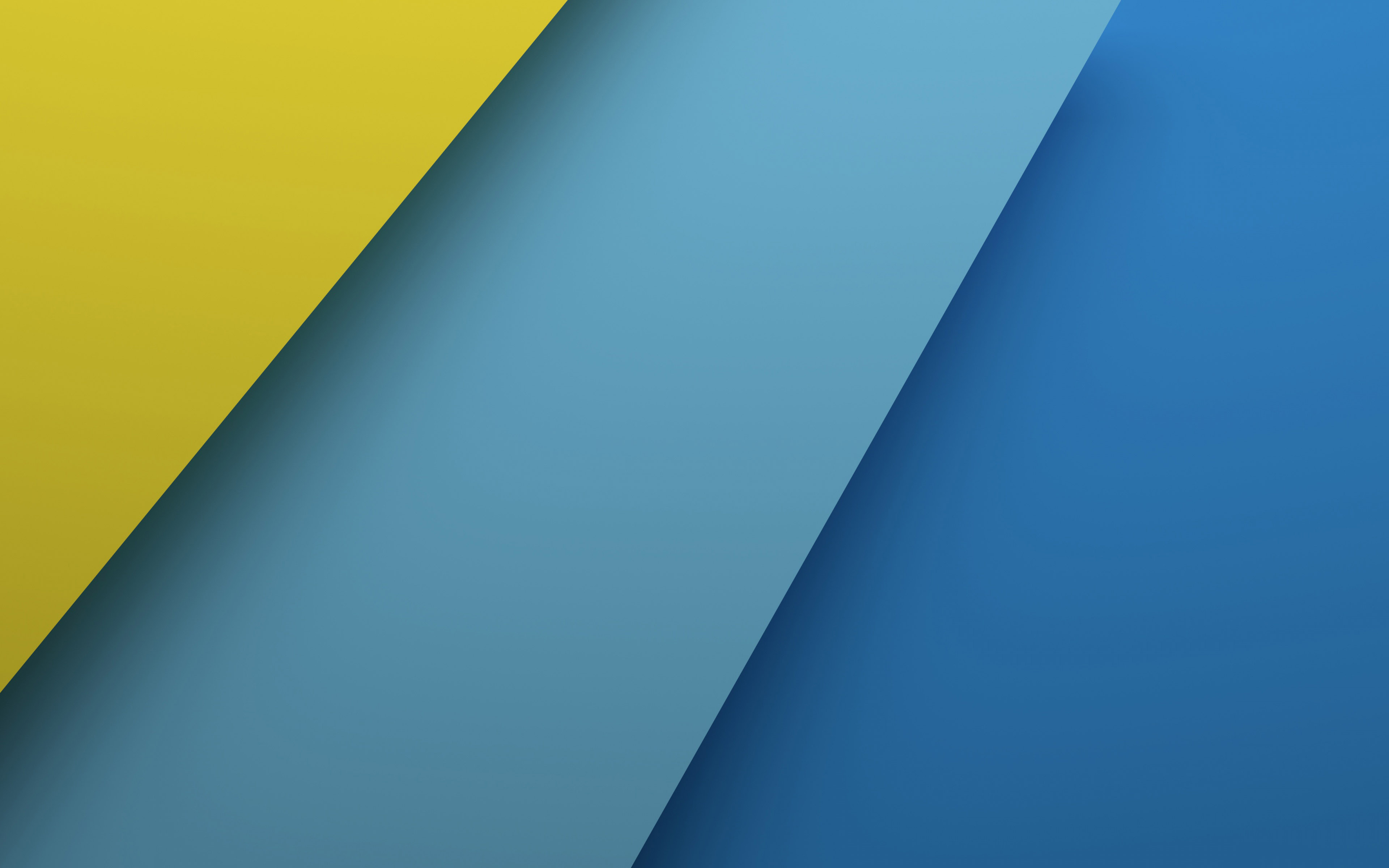 Blue And Yellow Wallpaper
