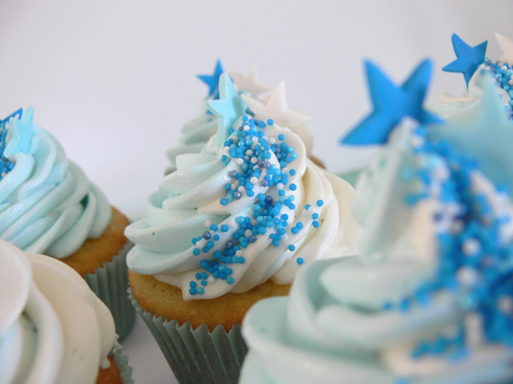Download Blue Cupcake Wallpaper Gallery