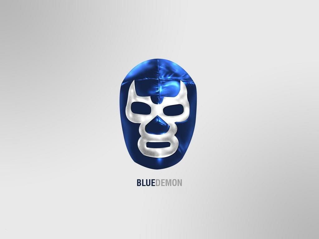 Blue Demon Wallpaper