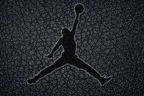 download blue jordan logo wallpaper gallery