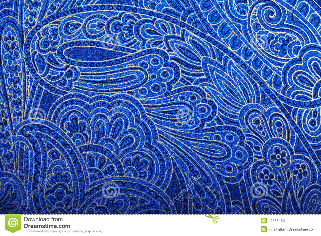 Download Blue Paisley Wallpaper Gallery
